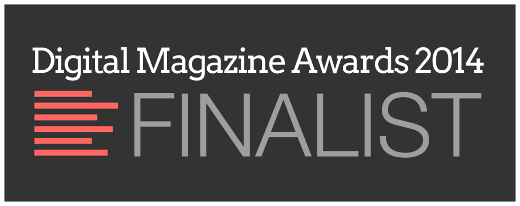 DMA - Digital Magazine Awards 2014 Finalist